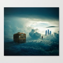 Travel in Paradise Canvas Print