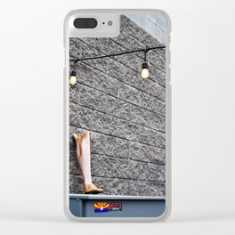 Need a Leg? Clear iPhone Case