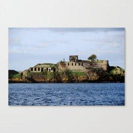 Inchmickery Island - Fife, Scotland Canvas Print