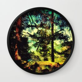 Magic Place, Stoney Hill, Vancouver Island Wall Clock