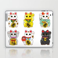 Lucky Cat / Maneki Neko Laptop & iPad Skin