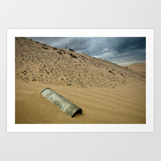 Lost Coors Can Art Print