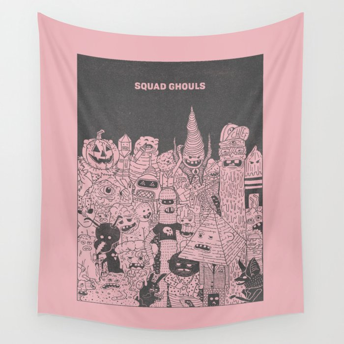 Squad Ghouls Wall Tapestry
