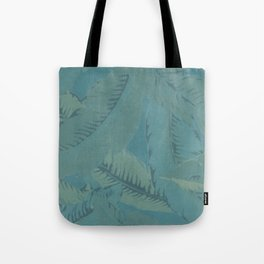 Faded Palms Pattern Tote Bag