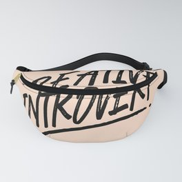The Creative Introvert Fanny Pack