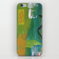 yoga iPhone & iPod Skins featuring YOGA by Prema Designs
