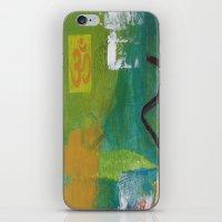 yoga iPhone & iPod Skins featuring YOGA by Prema Designs