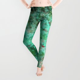 Moment of Epiphany: Emerald  Jewel Version Leggings
