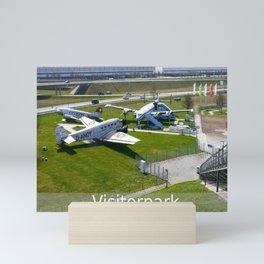 D - Airport Munich : Visitorpark Mini Art Print