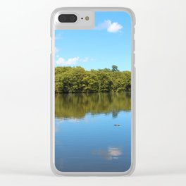 Clouds And Water Clear iPhone Case