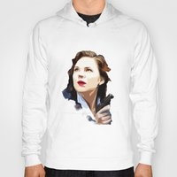 peggy carter Hoodies featuring Peggy Carter by Ms. Givens