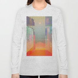 Open Gates / Spatial sluices / Entrance to summer Long Sleeve T-shirt