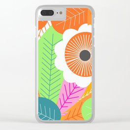 Summer at tropics Clear iPhone Case