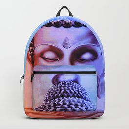 Gautama Buddha Abstract Backpack