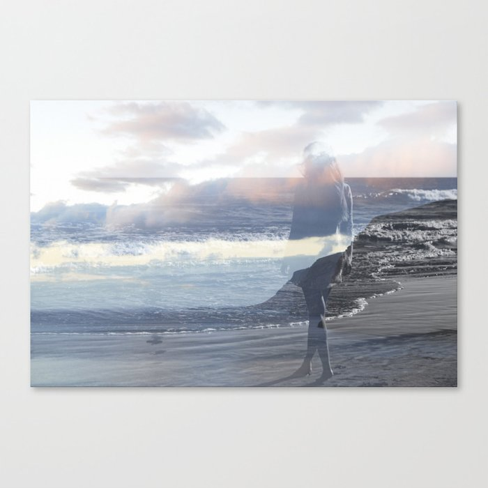 Into the Wave Canvas Print