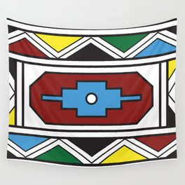 Ndebele Print Wall Tapestry