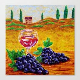 Taste Of Italy By Annie Zeno Canvas Print