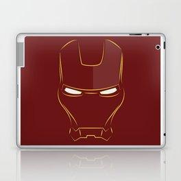 iron man face Laptop & iPad Skin