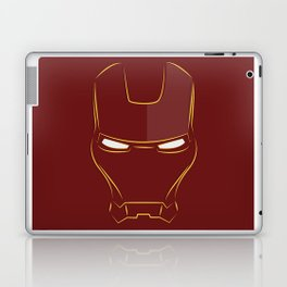 iron man face Laptop & iPad Skin