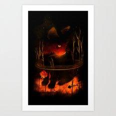 Catfish Art Print