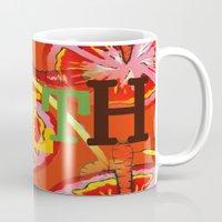 health Mugs featuring Health by Sartoris ART