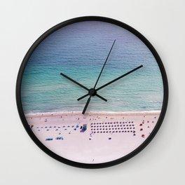 The Blue Ocean Wall Clock