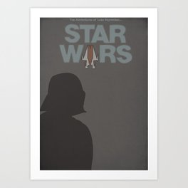 Star Wars 1977 Art Print