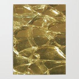 Golden Grid Poster