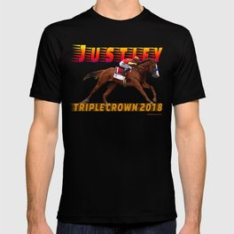 Justify Triple Crown T-shirt