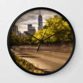 Only in New York Wall Clock