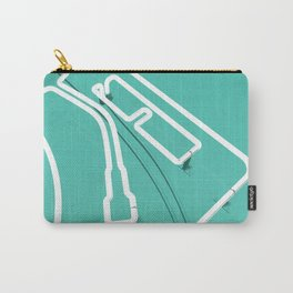 Neon Turntable 3 - 3D Art Carry-All Pouch