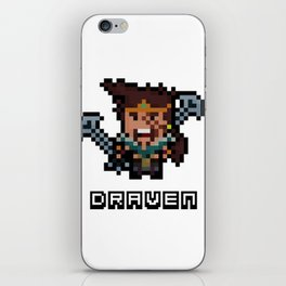 The League of Draven iPhone Skin