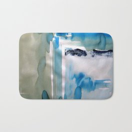 Landscape with Argonauts - Abstract 0029 Bath Mat