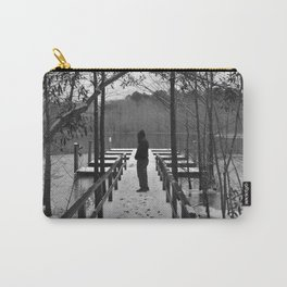 Snowy Docks Carry-All Pouch