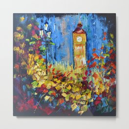 Autumn in London Metal Print