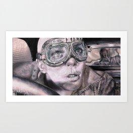 Witness Me Art Print