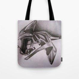 Calvin Klein Black Heels Tote Bag