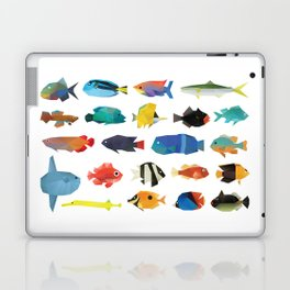 Tropical Fish chart Laptop & iPad Skin