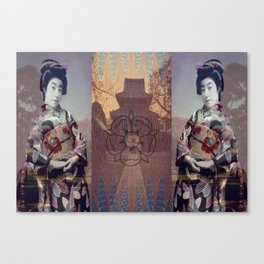 Once Upon A Time in Tokyo XV Canvas Print