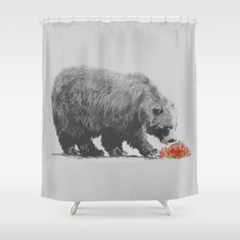 Cannibalism Shower Curtain