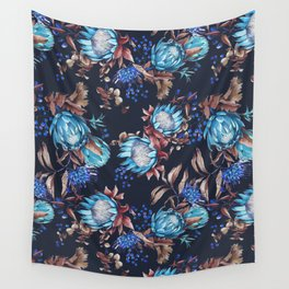 King protea flowers Wall Tapestry