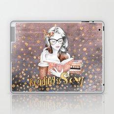 Reading is Sexy Laptop & iPad Skin