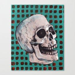 Skull 1974 Canvas Print