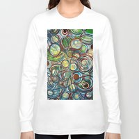 infinity Long Sleeve T-shirts featuring Infinity by HillaryFrye