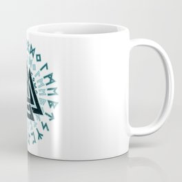 Valknut | Viking Warrior Symbol Triangle Coffee Mug