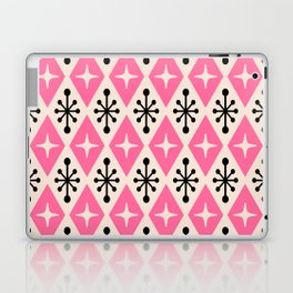 Mid Century Modern Atomic Triangle Pattern 111 Laptop & iPad Skin