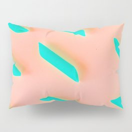 Neon Abstract Pasta Noodles Pattern (Color) Pillow Sham