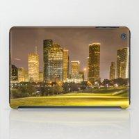 houston iPad Cases featuring houston skyline by franckreporter