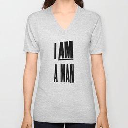 I AM A MAN (MEM '68) Unisex V-Neck
