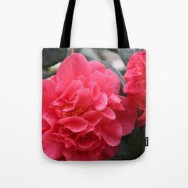 Pink Camellias Tote Bag